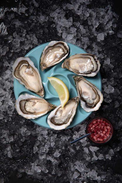 Assiettes à 6 huîtres